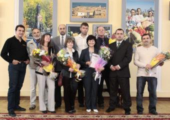 Жюри и победители выставки
